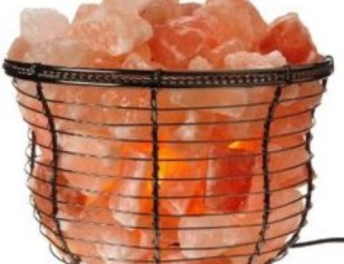 Himalayan Salt Chunks Basket